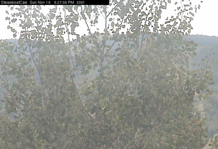Steamboat Springs Ski Resort Webcam Image