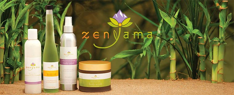 Featuring ZenYama Spa Products