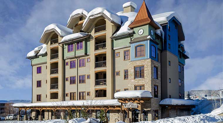 Highmark Steamboat Springs Check-in Location